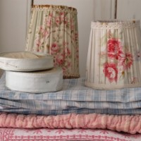 Antique French lampshades