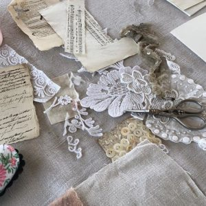 MATERIALS, SEWING KIT AND HABERDASHERY