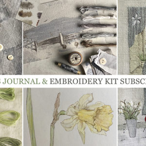 THE STITCHER'S JOURNAL SUBSCRIPTION 2019