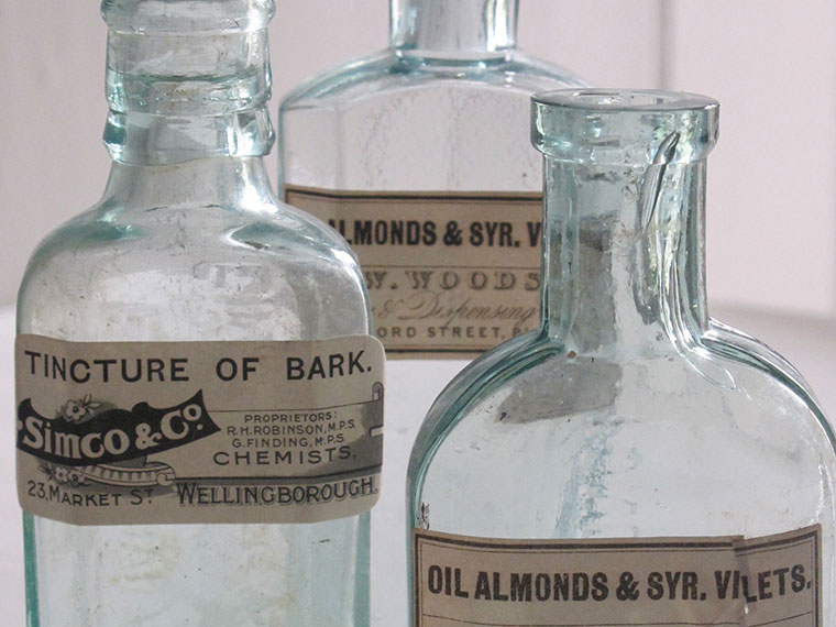 chemists' bottles 2
