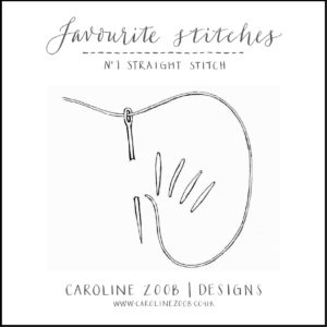 CAROLINE ZOOB FAVOURITE STITCHES BOOKLET